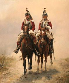 Cuirassiers on patrol? What a waste of good shock material! Aren't there hussars to do that?