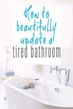 A look at some stylish bathroom makeover ideas and a host of cool ways to update a tired bathroom including accessories and simple bathroom DIY and storage hacks Declutter, Organize, Storage Hacks, Simple Bathroom, Home Hacks, Beautiful Bathrooms, Easy Projects, Bathroom Interior, Home Renovation
