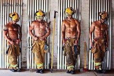 Ever since starting my EMT class I have such a mad crush on Firefighters!