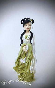 geisha Alluriana... by Georgia Ampelakiotou