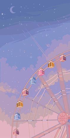 Cute Pastel Wallpaper, Soft Wallpaper, Anime Scenery Wallpaper, Cute Patterns Wallpaper, Purple Wallpaper, Aesthetic Pastel Wallpaper, Kawaii Wallpaper, Cute Wallpaper Backgrounds, Cute Cartoon Wallpapers
