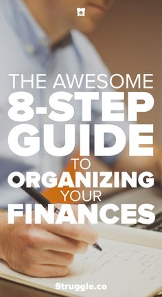 Before you can achieve financial freedom you need to make sure your finances are organized. This guide will help show you how to organize your finances.