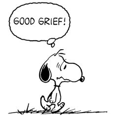 Snoopy was Told at the Airline Ticket Office that Dogs are Assigned to the Cargo Area