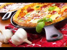 Пицца на сковороде за 10 минут - Кулинарный рецепт - Повар в доме