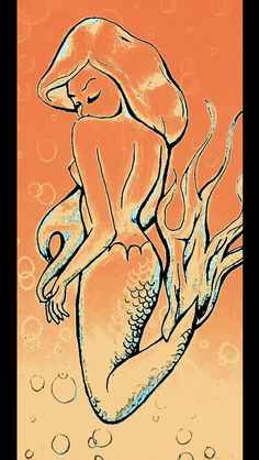 Mermaid shadows