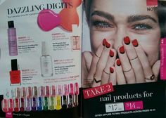 Take 2 nail products for $14. Order by Wed 15th June