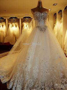 JESSICA!!! Wholesale Real Sample Custom Made High-grade Mermaid Sweetheart Royal Wedding Dress Long Cathedral Train, Free shipping, $534.1-545.0/Piece | DHgate