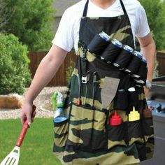 The perfect man and or woman grilling attire