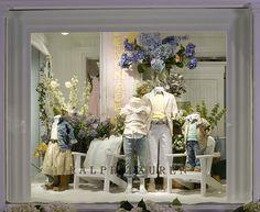 Nice display. Color, shapes, flow, design, Lemonade - Ralph Lauren children's store in East Hampton, NY (2007)