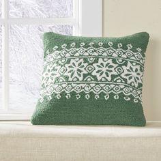 Woodbury Hooked Pillow Cover #birchlane