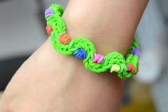 how to make new rubber band bracelets