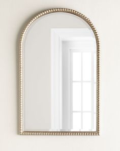"Arch-Frame Wall Mirror, 27"" wide x 43"" tall"