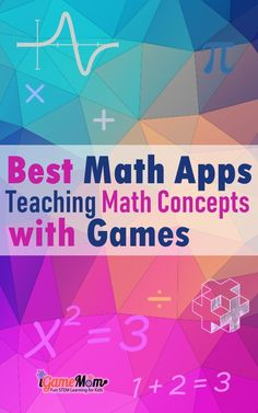 21 Best Math Apps Teaching Math Concepts with Games Best math apps games teaching math concepts from preschool kindergarten to middle and high school, math games for number senses, concept explanations and lessons with drills and practic, targeted math le Math Tutor, Teaching Math, Preschool Kindergarten, Maths, Math Education, Educational Apps For Kids, Learning Apps, Math Games, Math Activities