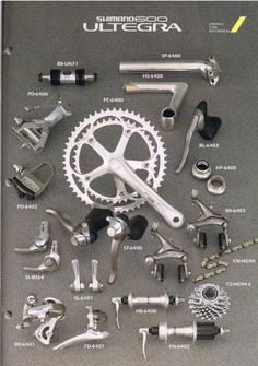1993 Shimano Ultegra 600 Evolution Is A Good This But Don T Forget Your Roots Coolbikeaccessories Roadbikeaccesso Partes De La Bicicleta Partes De La Misa