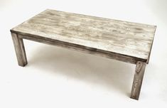 Woodland Creek Furniture - solid wood, no veneers. contemporary rustic farm table, wood is either ash or alder - you may specify Barnwood Dining Table, Rustic Farm Table, Farmhouse Table, Funky Chairs, Rustic Contemporary, Kitchen Ideas, Kitchen Tables, Dining Tables, Dining Rooms