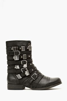 Tyrantt Strapped Boot
