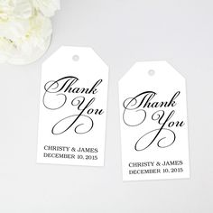 thank you favor tags - thank you tags - favor tags - any occasion thank you tags