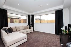 The luxurious Rochester has an abundance of rooms for family fun and entertaining. Visit: www.mimosahomes.com.au Call: 1300 MIMOSA Cupboard Storage, Beautiful Homes, Home, Ensuite, Home And Family, Modern Family, Built In Wardrobe, Game Room, Room
