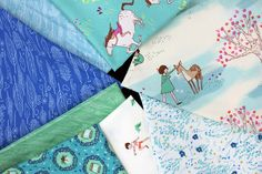 Sarah Jane's Wee Wander fabric collection. available at letssew.com