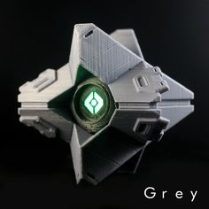 Destiny 3D printed Ghost Frontier Kit  - with LED