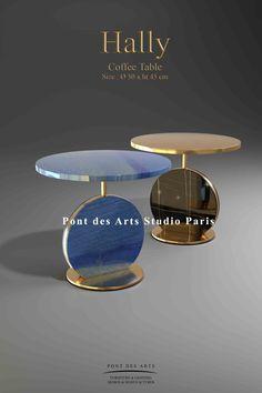 Art Furniture, Coffee Table Size, Coffee Tables, Studio Paris, Mobile Bar, Center Table, Chair Design, Lighting Design, Interior Design