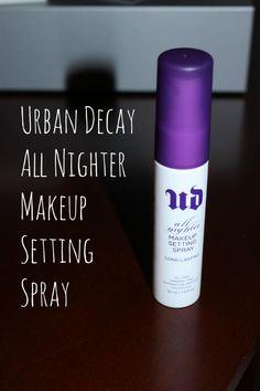 Makeup Setting Spray #beauty #makeup #beautyblogger