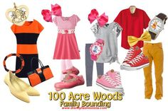Disney Bounding With The Disney Fashionista- 100 Acre Woods Family!