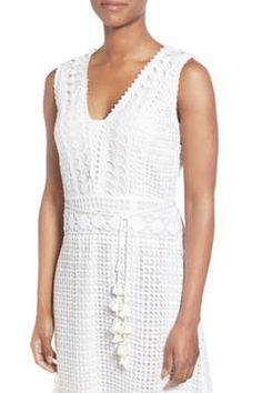 Alternate Image 4  - Kobi Halperin 'Audrina' Crochet Lace Midi Dress