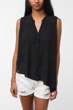 asymmetrical shirt