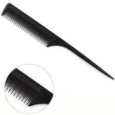haircut comb salon hair barber dressing brush updo hairstyle cutting hair trimmed anti static high temperature Hairbrush A4