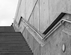 Black White Minimalist Photo Urban Industrial by JulieMagersSoulen,