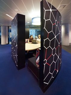 Cool casual meeting pod - Commonwealth Bank Place in Sydney, Australia by E.G.O. Group in association with Davenport Campbell
