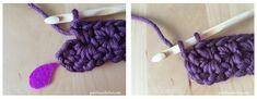 manique-crochet-point-etoile-18 Dmc, Le Point, Couture, Crochet Necklace, Points, Lego, How To Crochet, Making A Bow, Blanket Crochet