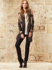 nice Look Of The Week : Loobie& Story Fur Coat, That Look, Black Jeans, Pants, Jackets, Aw 2014, Collection, Winter, Nice