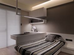 A Multilevel Contemporary Apartment by WCH Studio