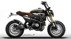 GROM50 Scrambler Concept-Two                                                                                                                                                                                 More
