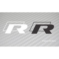 Volkswagen R Line logo sticker is available in Black and white variants, White is suitable for darker colored cars and Black is suitable for lighter colored cars. Must have sticker for WRC rally racing fans. R Line sticker is Suitable for all VW cars like Logo Stickers, Bike Stickers, Brand Design, Logo Design, Motorcycle Stickers, Crest Logo, Buy Bike, Garage Signs, Star Logo