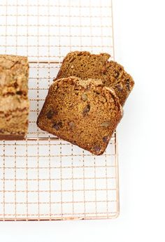 pumpkin bread with chocolate and ginger