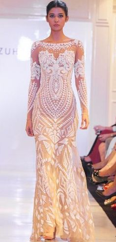 "Zuhair Murad Spring 2014 ❁❁❁Thanks, Pinterest Pinners, for stopping by, viewing, re-pinning, & following my boards. Have a beautiful day! ❁❁❁ **<>**✮✮""Feel free to share on Pinterest""✮✮"" #fashion #gifts www.fashionupdates.net"