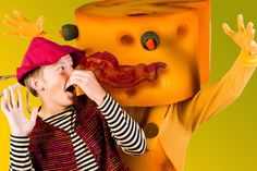 The Stinky Cheese Man #Kids #Events