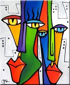 Pop art, Art paintings and Abstract on Pinterest