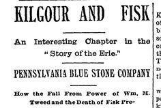 Kilgour & Fisk, 1899 The Quarrymen, Erie Pennsylvania