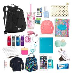 """""""Preppy School Essentials"""" by brookegeorge8 on Polyvore"""