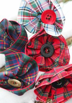 TartanFlowers burns night