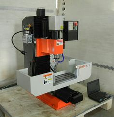 New Machine Build Show how to build a CNC machine from the very beginning to the end - Page 183 Small Cnc Machine, Cnc Machine Tools, Cnc Milling Machine, Milling Table, Cnc Table, Metal Working Machines, Cnc Spindle, Desktop Cnc, Hobby Cnc
