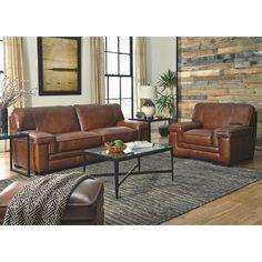 Simon Li Macco Leather Sofa & Reviews | Wayfair