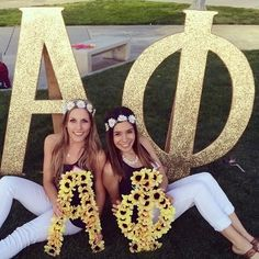 Q: So myself & 2 other sisters are in charge of bid day. I was wondering if you have a plan/document/template to follow of all the things that need to be done, or that are needed? Any advice on how to...