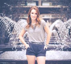 water fountain mall city style grey scale cute outfit street