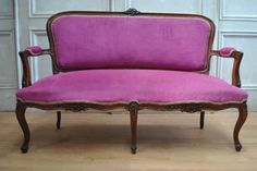Gorgeous Antique C19TH French Louis XV Salon Canapé 3 Seater Sofa C1890 in VIC | eBay