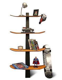 skate board rack